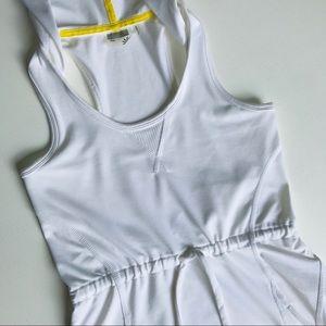 NWOT Athleta hoodie maxi dress